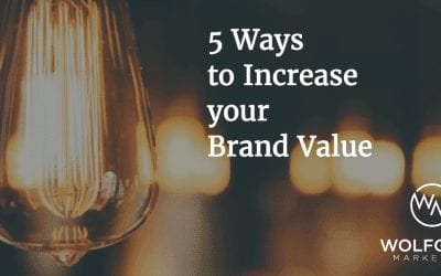 5 Ways to Increase Brand Value